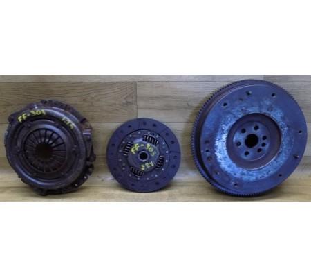 Маховик, корзина и диск сцепления, 1.25, Ford Fiesta, 96MM6375A1H