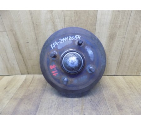 Тормозной барабан задний со ступицей, Ford Fiesta 4
