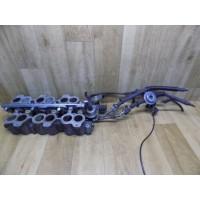 Впускной коллектор с заслонками, топливная рампа с топливными форсунками, 2.5, Ford Mondeo 2, F73ECE