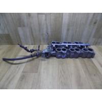 Впускной коллектор с заслонками, топливная рампа с топливными форсунками, 2.5, Ford Mondeo 2, XU3EAC