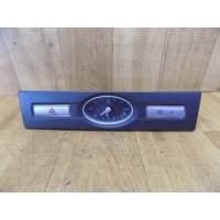 Часы с кнопкой аварийной сигнализации и подогрева переднего стекла, Ford Mondeo 3, 4S71F044K08, 3S7T15000DB
