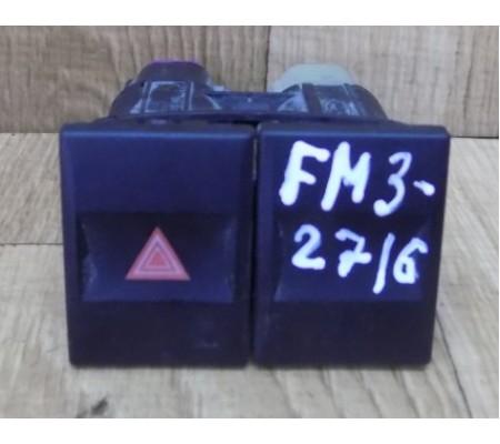Кнопка аварийной сигнализации, Ford Mondeo 3