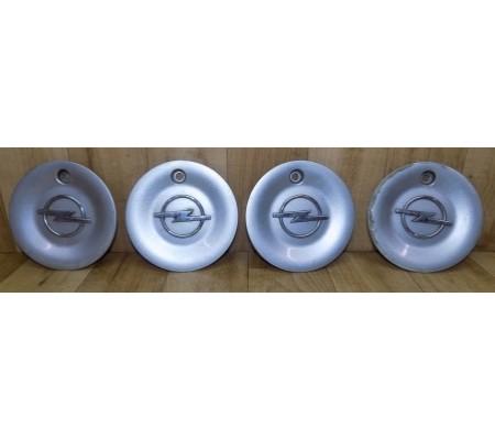 Комплект заглушек(колпачков/крышек) колесных дисков, Opel, 90538088