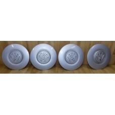 Комплект заглушек(колпачков/крышек) колесных дисков, Volkswagen, 1H0601151B