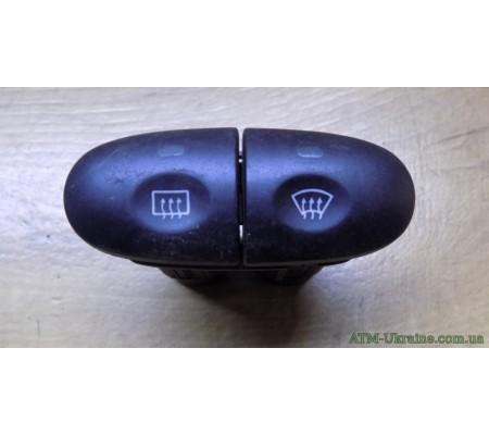 Кнопка обогрева переднего и заднего стекла Ford Mondeo 2 97BG18K574AC