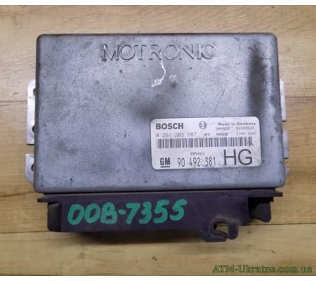 Блок управления двигателем 90492381 Opel Omega В 94-2003 г
