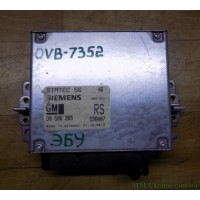 Блок управления двигателем ЭБУ 90506365 Opel Vectra B