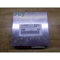 Электронный блок управления двигателем-ЭБУ Opel Vectra B, 16202319