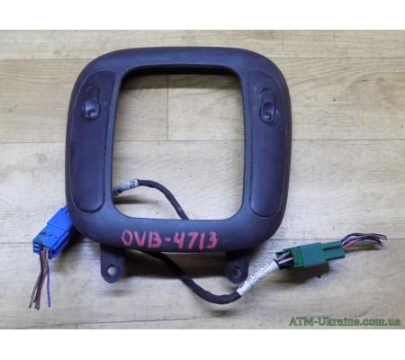 Накладка КПП с кнопками стеклоподъемника Opel Vectra В, GM 90503604