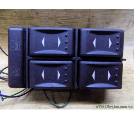 Блок кнопок стеклоподъемников, Ford Mondeo-3, Mk-3, 303163453, 3S7T14A132BA