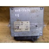 Электронный блок управления двигателем-ЭБУ Opel Vectra B, 1.8, GM 90506365RS