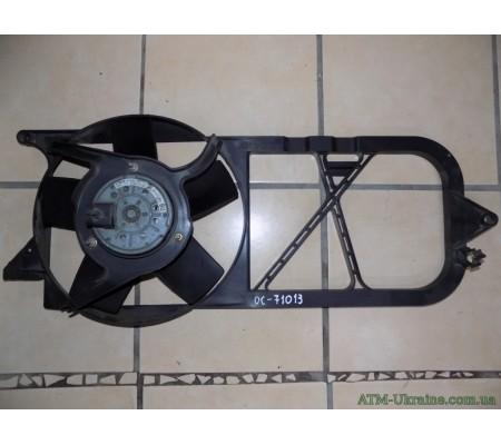 Вентилятор радиатора Opel Corsa B, GM90571811, GM09128850