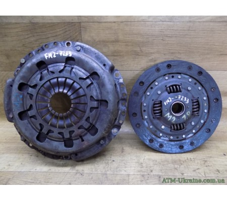 Корзина и диск сцепления, Ford Mondeo-2, Mk-2, 1.8, 97BG7550CA