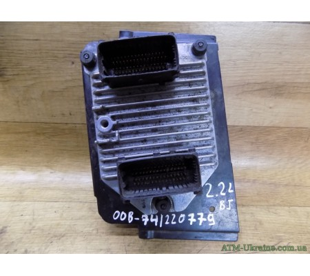 Блок управления двигателем, ЭБУ, Opel Omega B, 2.2 L, GM09146052BJ