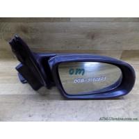 Зеркало заднего вида, боковое, правое, с электроприводом, Opel Omega B, 0815463, 010358, 010357