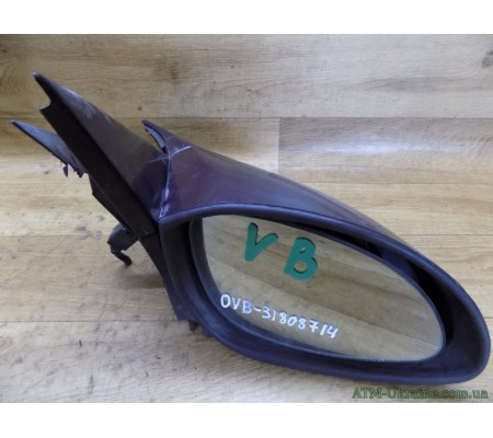 Зеркало заднего вида, боковое, правое, с электроприводом, Opel Vectra B, 010446, 0035960, R2059182