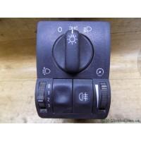 Блок света, Opel Astra G, 90561381
