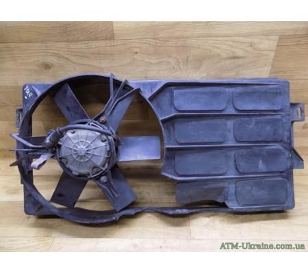 Вентилятор радиатора с диффузором, Ford Escort, Mk-4, 83AB8600AA, 86AB8B605BA
