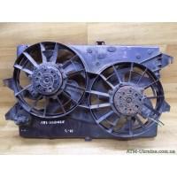 Вентилятор радиатора с диффузором, Ford Mondeo-3, Mk-3, 95BB8C607, 95BB8146DC, 95BB8146BC