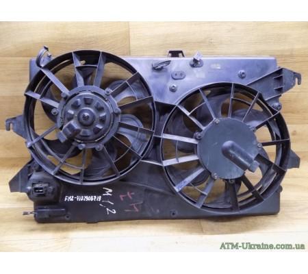 Вентилятор радиатора с диффузором, Ford Mondeo-1, Mk-1, Ford Mondeo-2, Mk-2