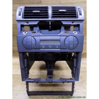 Накладка центральной консоли с блоком управления климат-контролем, Ford Mondeo-3, Mk-3, 3S7T18C612AH, 4S7118522CCW