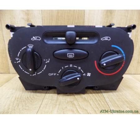 Блок управления печкой на Peugeot 206, BEHR 64138, 85858, 99210