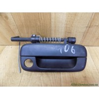 Ручка наружная, передняя правая Peugeot 406, 9621858577, FABI 7730/1