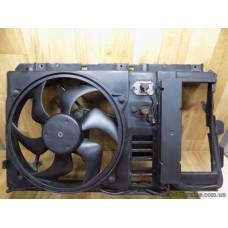 Вентилятор радиатора с диффузором Peugeot 406