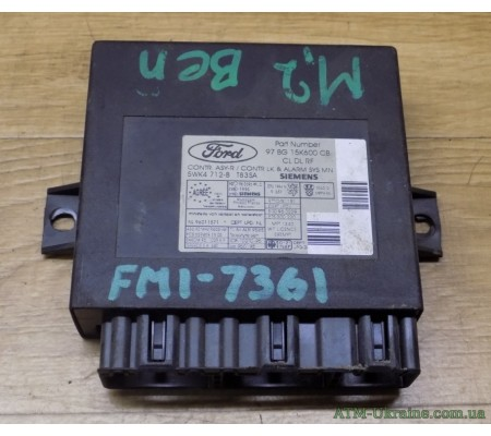 Блок центрального замка Ford Mondeo 2 MK2 97BG15K600CB