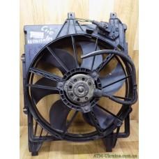 Вентилятор радиатора с диффузором Renault Clio 2, 7700428659, 9020938
