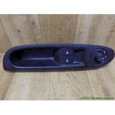 Блок управления эл.зеркалами и стеклоподъемниками Renault Clio 2, 8200084008 E2/E3, 8200084003 E1