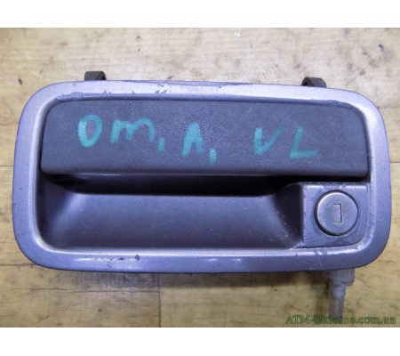 Ручка дверная, передняя, левая, Opel Omega A