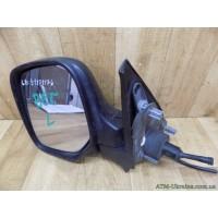 Зеркало левое, механическое, с обогревом Citroen Berlingo, 00008148PL, 00008153HN, 8148PL