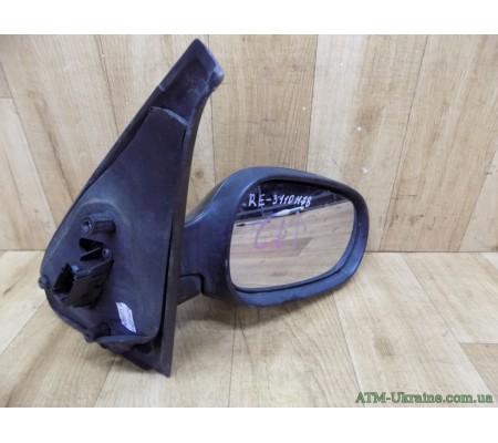 Зеркало правое , с электроприводом Renault Clio 2, 7700435864, 7701471857, 1234301, G 435864