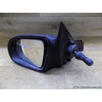 Зеркало механическое левое Opel Corsa, 047109, 1427442, 1428811