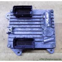 Блок управления двигателем ЭБУ, Opel Vectra C, GM 55351342