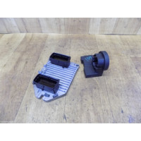 Электронный блок управления двигателем, комплект, 2.2, Opel Omega B, 24426542, 5WK9158, 24445098