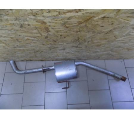 Глушитель, средняя часть, универсал, 2.2 DTI, Opel Omega B