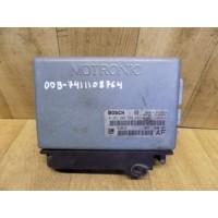 Электронный блок управления двигателем, V6, Opel Omega B, 0261204589, 90566817AF