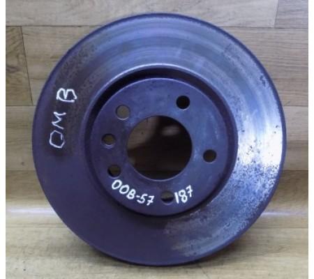 Диск тормозной передний, 296мм, Opel Omega B