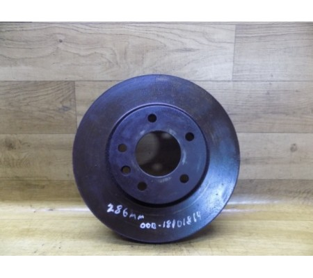 Тормозной диск передний 286мм, Opel Omega B