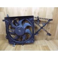 Вентилятор радиатора (дефект), 1.6-2.5, Opel Vectra B, 52464738, 52464741, 0130303821