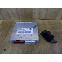 Электронный блок управления двигателем, комплект, 1.6, Opel Vectra B, 16202299