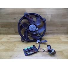 Вентилятор радиатора, 2.5, Citroen Berlingo