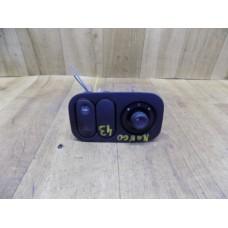Кнопка подогрева заднего стекла, регулировка зеркал, Renault Kangoo, 7700847433F