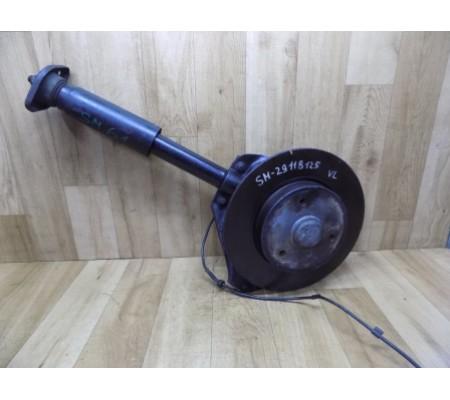 Стойка амортизатора с тормозным диском передняя левая, Smart 450