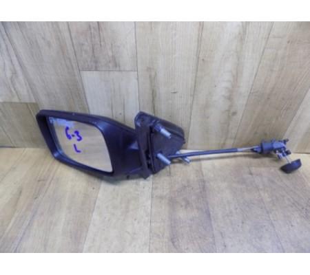 Зеркало левое, механическое, Volkswagen Golf 3