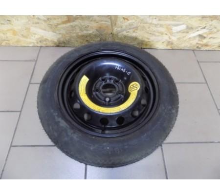 Запасное колесо, докатка, Fiat, Alfa Romeo, Lancia, 5х98 R 15, ET 35, размер шины 125/80/15, производитель Continental, Temporary Use Only