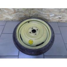 Запасное колесо, докатка, Mazda, 4х100, размер диска R 16, 4J, ET 24, размер шины 105/70/16, производитель Dunlop, Temporary Use Only