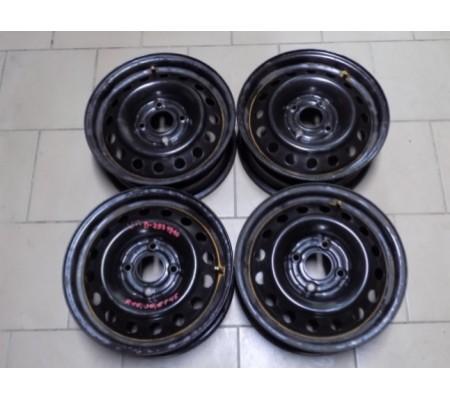 Диски Nissan, R15, 4x114, ET-45, J-6, 40300-2F815, (4шт)